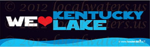 We Heart Kentucky Lake Decal
