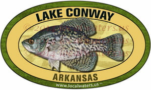 Lake Conway Crappie Sticker