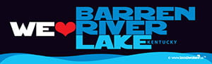 Barren River Lake Sticker We Love Barren River Lake