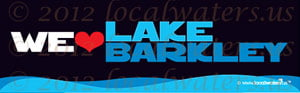 We Love Lake Barkley Sticker