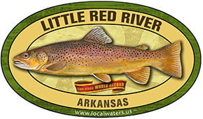 White River AR World Class Line Record Fishing decal