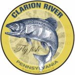 Clarion River Fly Fishing sticker