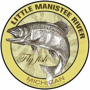 Little Manistee River Fly Fish Michigan