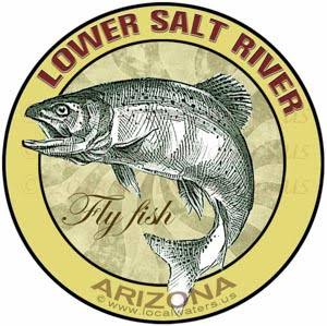 Lower Salt River Arizona Fly Fish