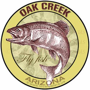 Oak Creek Arizona Fly Fish