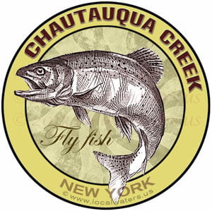Chautauqua Creek Fly Fish New York