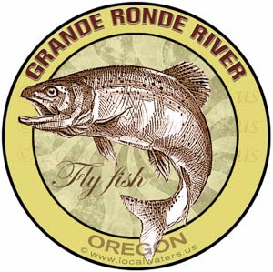 Grande Ronde River Fly Fish Oregon