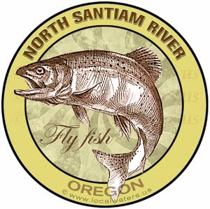 North Santiam River Fly Fish Oregon