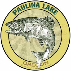 Paulina Lake Fishing Oregon