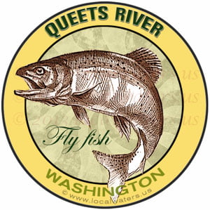 Queets River Fly Fish Washington