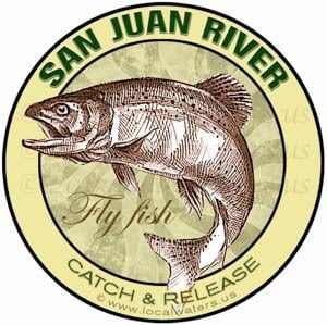 San Juan River Catch Release Fly Fish