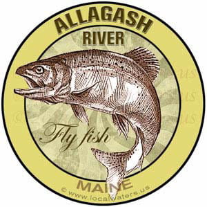 Allagash River Maine Fly fish