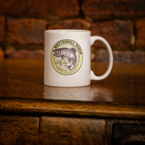 Battenkill River Fly Fishing ceramic coffee mug