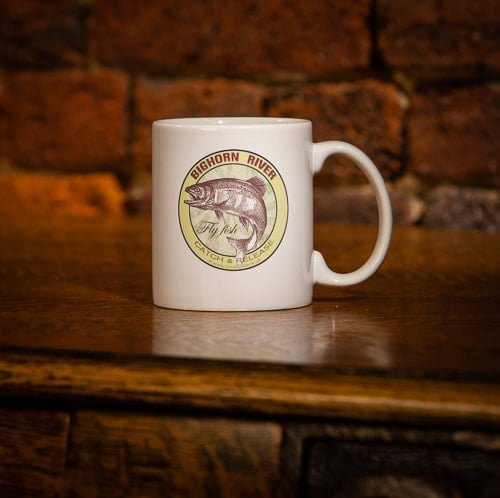 Bighorn River Fly Fish Catch & Release Coffee Mug