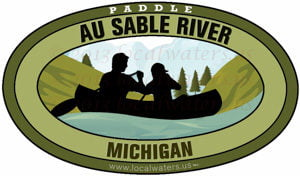 Au Sable River Michigan Paddle
