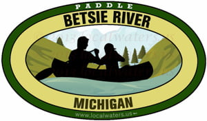 Betsie River Michigan Paddle