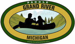 Grand River Michigan Canoe Paddle
