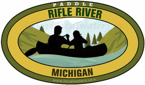 Canoe Rifle River Michigan Kayak Paddle