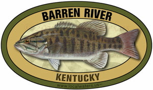 Barren River Kentucky smallmouth bass