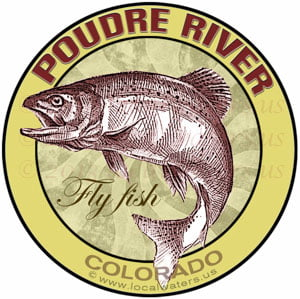 The Poudre River Fly Fish Colorado Trout