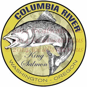 Columbia River Washington Oregon King Salmon Fishing