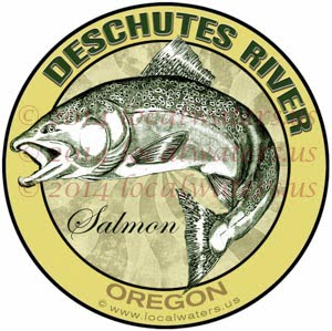 Deschutes River Oregon Salmon Fishing
