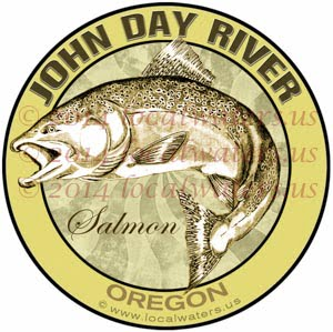 John Day River Oregon Salmon Fishing