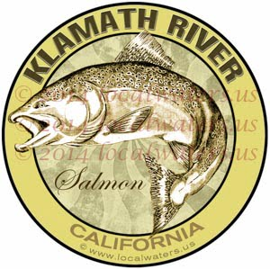 Klamath River California Salmon Fishing