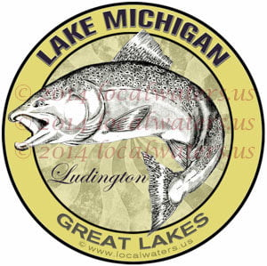 Lake Michigan Ludington Great Lakes Salmon Fishing