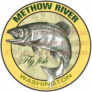 Methow River Fly Fish Washington