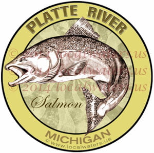 Platte River Michigan Salmon Fishing