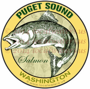 Puget Sound Washington Salmon Fishing