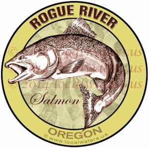 Rogue River Oregon Salmon Fishing