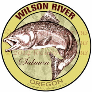 Wilson River Oregon Salmon Fishing
