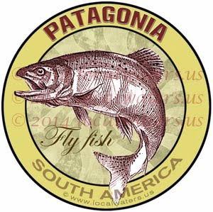 Patagonia Fly Fishing Sticker Decal