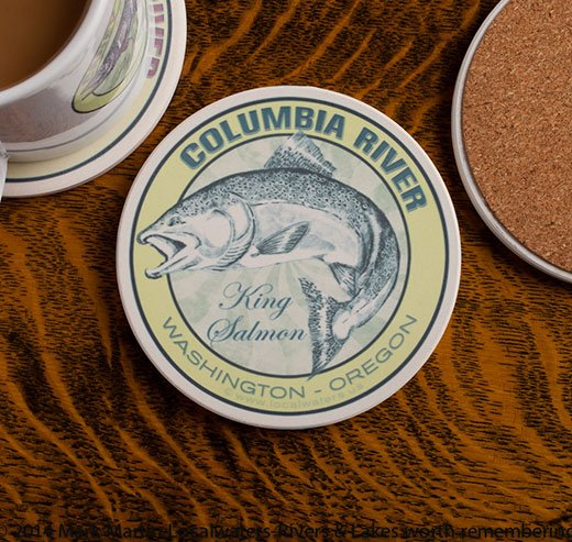Columbia River King Salmon coaster
