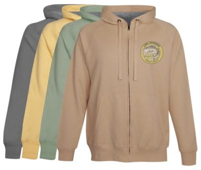 Lake Michigan Salmon Fishing Hoodie Ludington