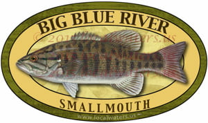 Big Blue River Smallmouth Bass