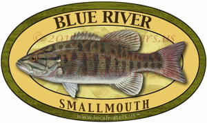 Blue River Smallmouth Bass