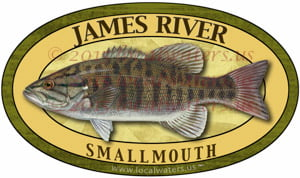 James River Smallmouth Bass