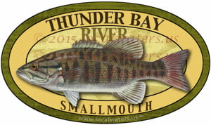 Thunder Bay River Smallmouth