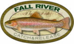 Fall River Rainbow Trout Fly Fish Sticker California