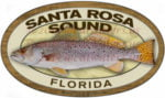 Santa Rosa Sound Sticker Spotted Sea Trout Decal Florida Fishing