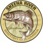 Skeena River Sticker Steelhead Decal British Columbia Canada