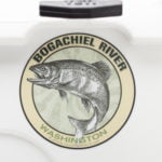 Bogachiel River Fishing Sticker Washington Decal