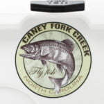 Caney Fork Creek Fly Fishing Sticker North Carolina Decal