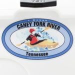 Caney Fork River Kayak sticker Tennessee Decal Paddle
