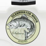 Clearwater River Salmon Fishing Sticker Idaho decal