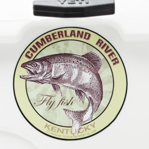 Cumberland River Fly Fishing Sticker Kentucky Decal