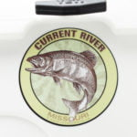 Current River bass fishing sticker decal Missouri